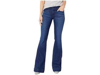 J Brand Lovestory Flare Jeans in Nebula