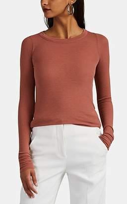Rick Owens Women's Gossamer Rib-Knit T-Shirt - Pink
