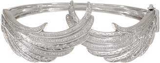 Affinity Diamond Jewelry Angel Wing Diamond Bangle, Sterling, 1/2 cttw, by Affinity