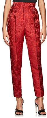 Dolce & Gabbana Women's Jacquard Satin Tapered Trousers