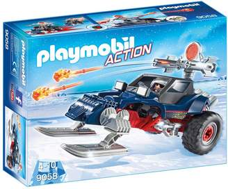 Playmobil 9058 Action Ice Pirate with Snowmobile