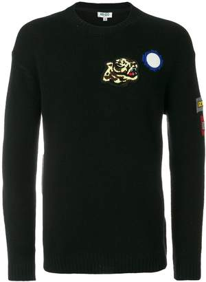 Kenzo patch jumper