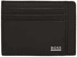 BOSS Black Signature Card Holder