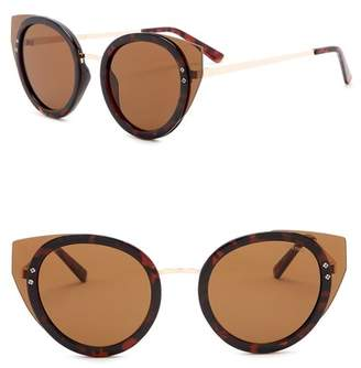 Kenneth Cole Reaction 52mm Cat Eye Sunglasses