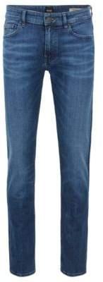 BOSS Hugo Slim-fit jeans in recycled stretch denim 30/32 Blue