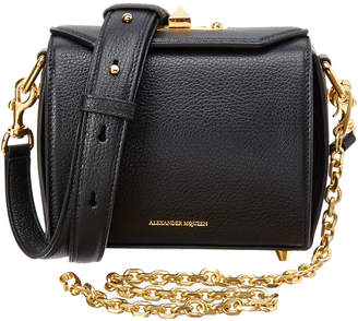 Alexander McQueen Box Bag 16 Leather Crossbody
