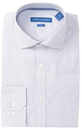 Vince Camuto Diamond Slim Fit Dress Shirt