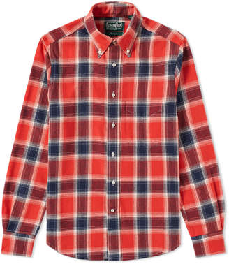 Gitman Brothers Twill Plaid Shirt