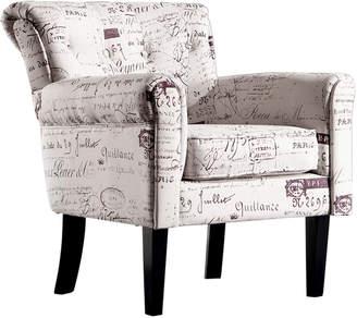 BEIGE Levede Nicola Upholstered Armchair