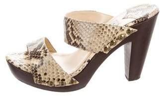 Jimmy Choo Slide Platform Sandals