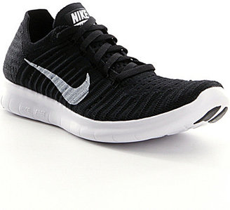 Nike Women's Free Run Flyknit Running Shoes $130 thestylecure.com