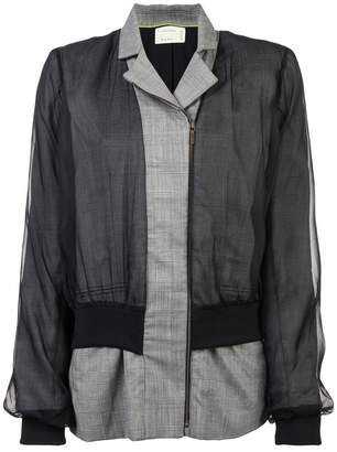 Nicole Miller front zipped jacket