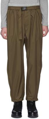 3.1 Phillip Lim Belted contrast waist grosgrain outseam track pants