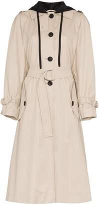 Miu Miu long sleeve trench coat
