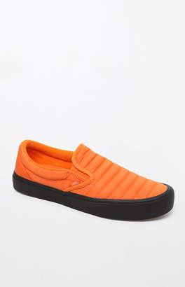 Vans Quilted Slip-On Lite Orange Shoes