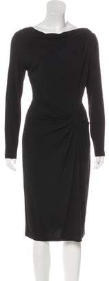 Michael Kors Ruched Bodycon Dress