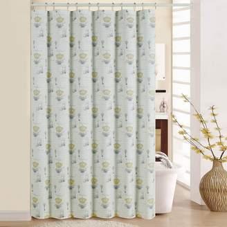Waverly Paris Notebook Shower Curtain
