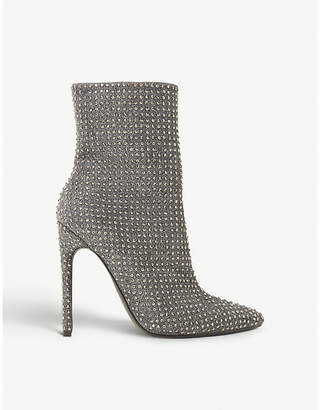 Steve Madden Wifey rhinestone-embellished ankle boots