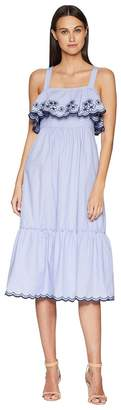Kate Spade Daisy Embroidered Patio Dress Women's Dress