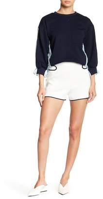 ENGLISH FACTORY Accented Knit Shorts