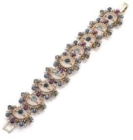 Marchesa Swarovski Crystal Drama Flex Bracelet