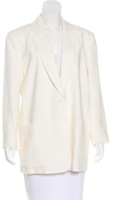 See by Chloe Structured Notched-Lapel Blazer