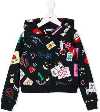 Dolce & Gabbana logo printed hoodie