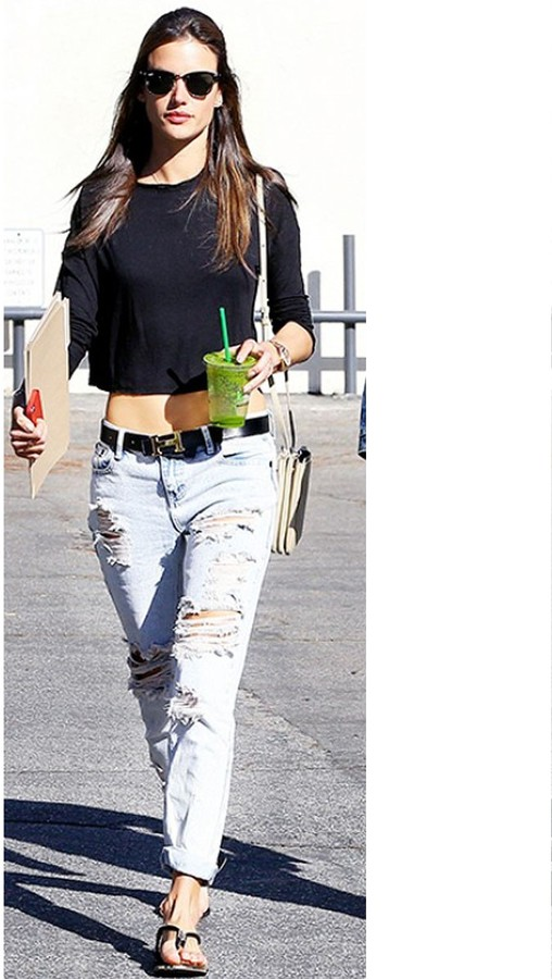 One Teaspoon Awesome Baggies in Fiasco as Seen On Ashley Tisdale and Sofia Vergara
