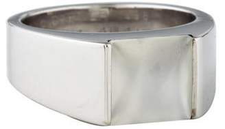 Cartier 18K Moonstone Tank Ring