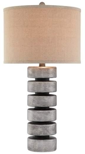 Jalexander Lighting 'Stacked Disc' Table Lamp