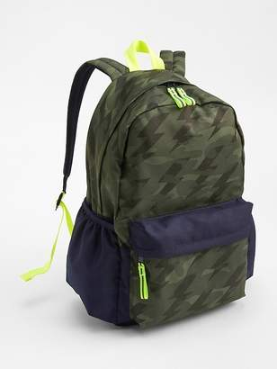 Gap Camo Senior Backpack