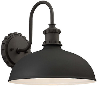 Minka Lavery Escudilla Outdoor Sconce - Black