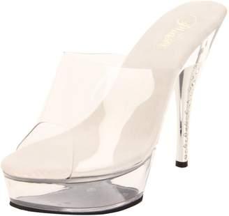 Pleaser USA Women's Diamond-601/C/M Platform Sandal