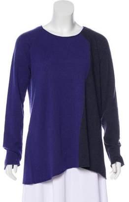 Armani Collezioni Cashmere Colorblock Sweater