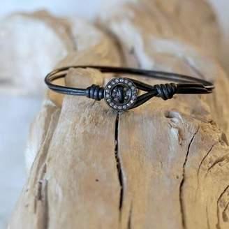 Designs By Alina Diamond Button Bracelet