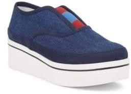 Stella McCartney Binx Denim Platform Loafers