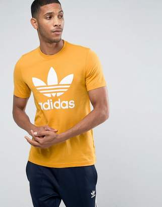 adidas Trefoil T-Shirt In Orange BQ1806