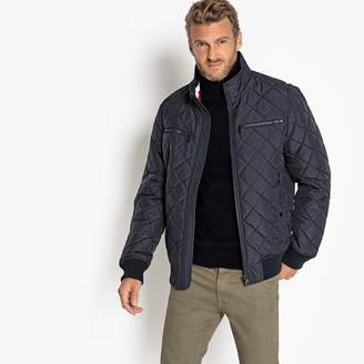 Tommy Hilfiger Zip-Up Bomber Jacket with High Neck