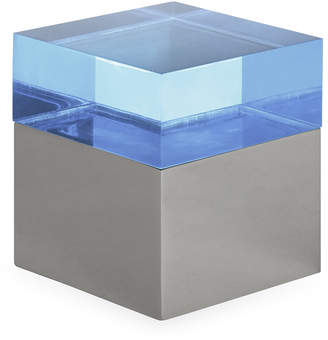 Jonathan Adler Blue Small Monaco Square Box