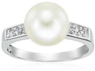 Bella Pearl Semi Eternity Pearl Ring