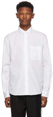 Craig Green White Slim Fit Strap Shirt