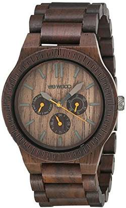 WeWood Men's Kappa Chocolate Wooden Watch by