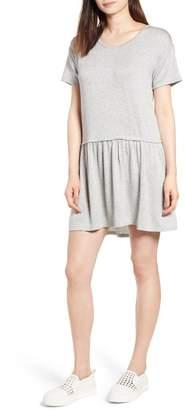 Bobeau Knit Tee Dress (Regular & Petite)