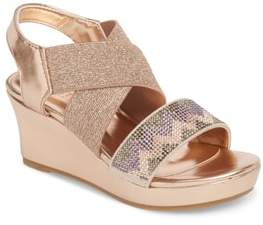 Kenneth Cole New York Reaction Kenneth Cole Reed Mamba Embellished Wedge Sandal