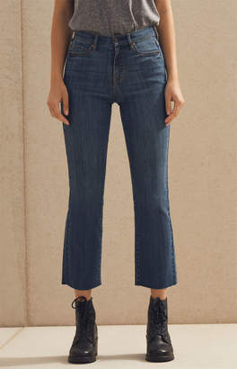 Pacsun Flare Blue Cropped Flare Jeans