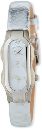 Philip Stein Teslar Stainless Steel Mini Signature Watch Mother-of-Pearl\/Silver