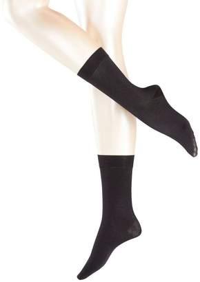 Falke Womens Sensual Cashmere Midcalf Socks - Medium/Large