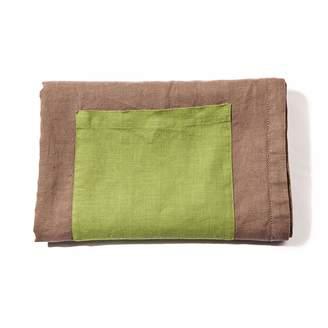yamabahari - Topaza Pella Linen Beach Towel - Brown Edition