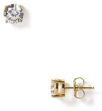 Crislu Stud Earrings, 5mm