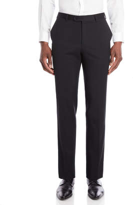 John Varvatos Black Joplin Luxe Wool Suit Pants